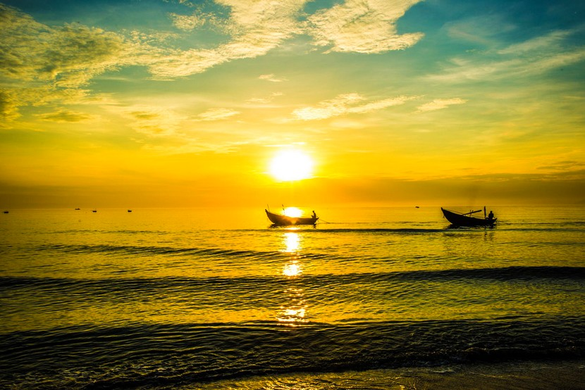 My Khe Beach in Da Nang
