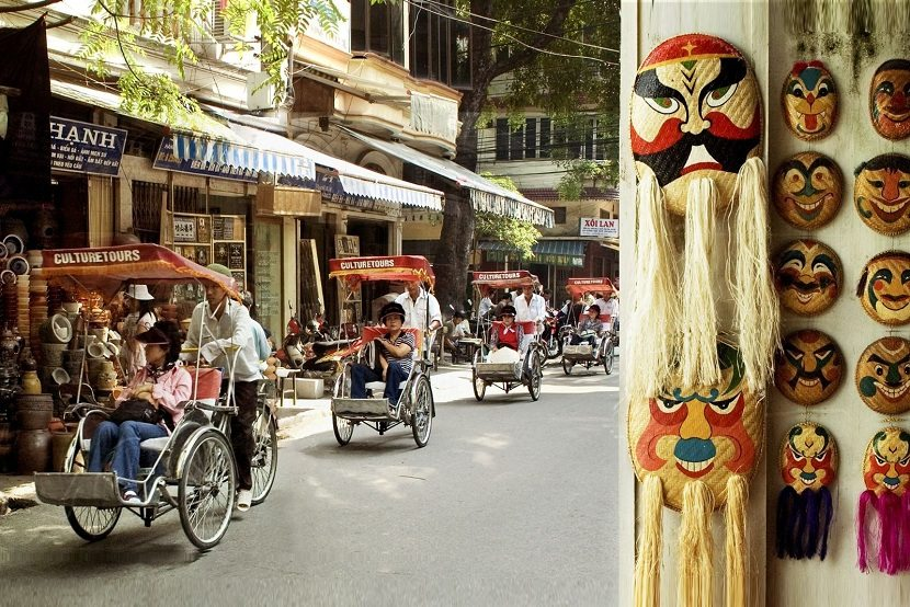 Old  Quarter of  Hanoi