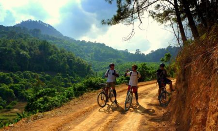 Ho Chi Minh Trail biking 1