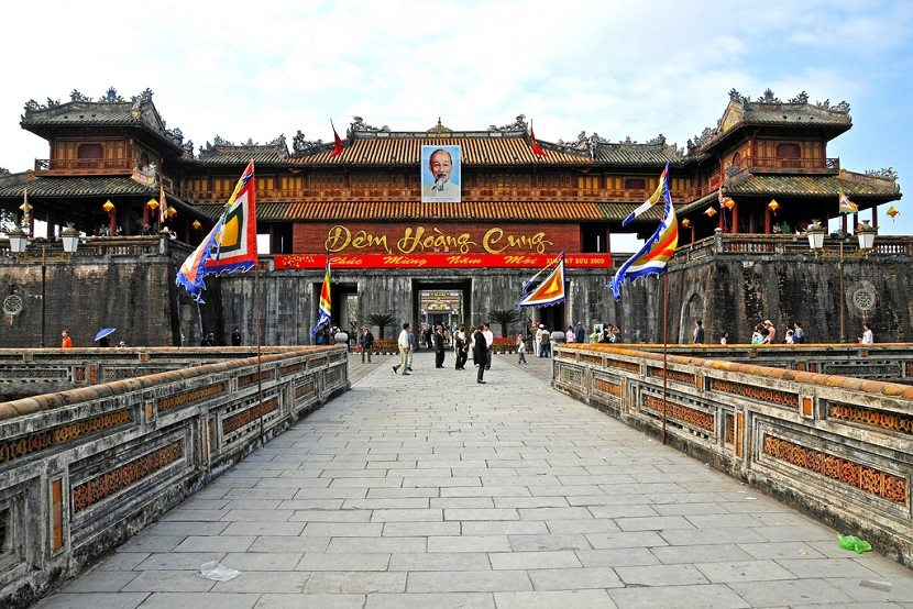 Noon Gate in Hue