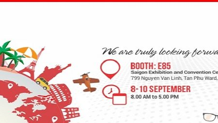 Welcome to TNK Travel Booth at International Travel Exhibition (ITE) 2016