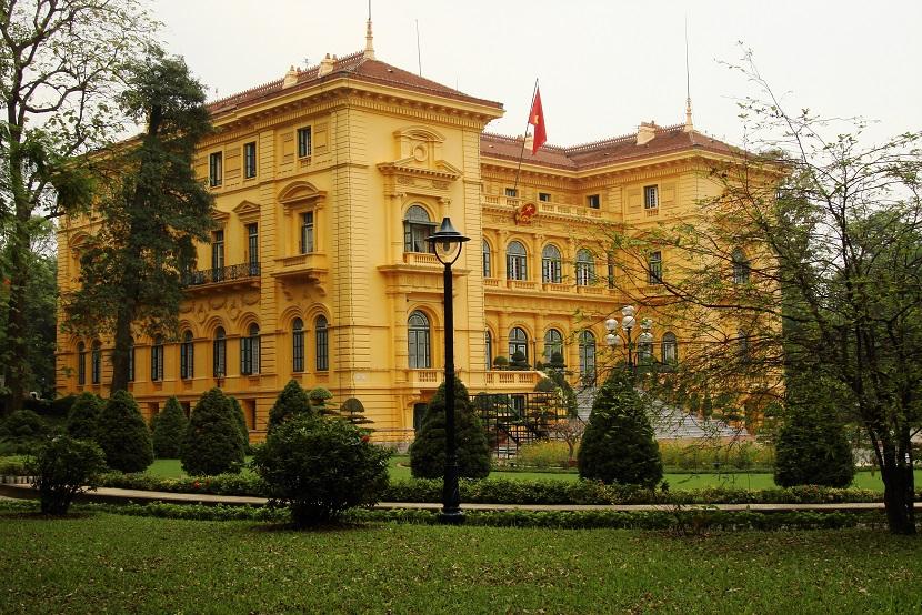 Presidential Palace Vietnam
