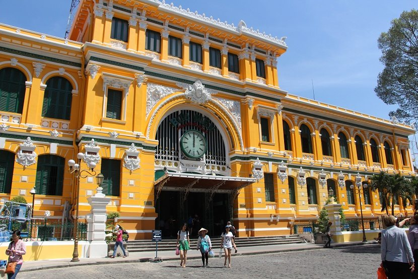 HoChiMinh Central Post Office