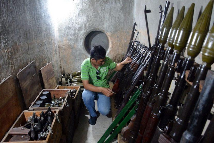 Secret Cellar in Ho Chi Minh