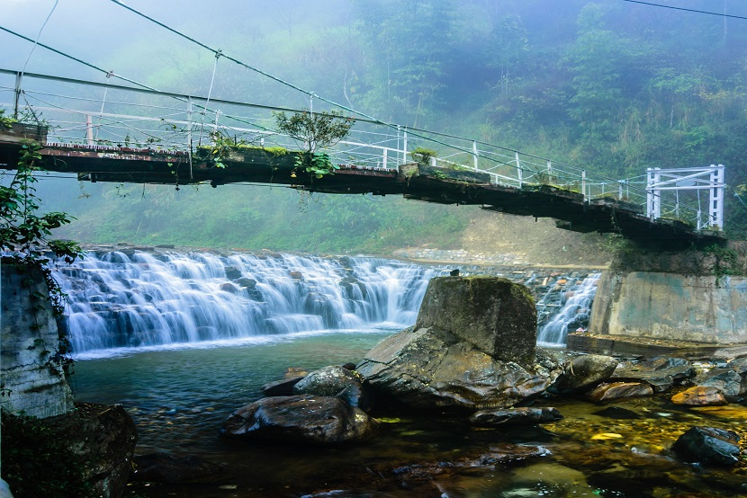 Sapa suspension bridge