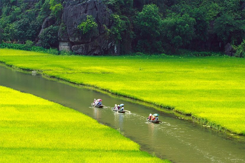 Tam Coc landscape in Ninh Binh
