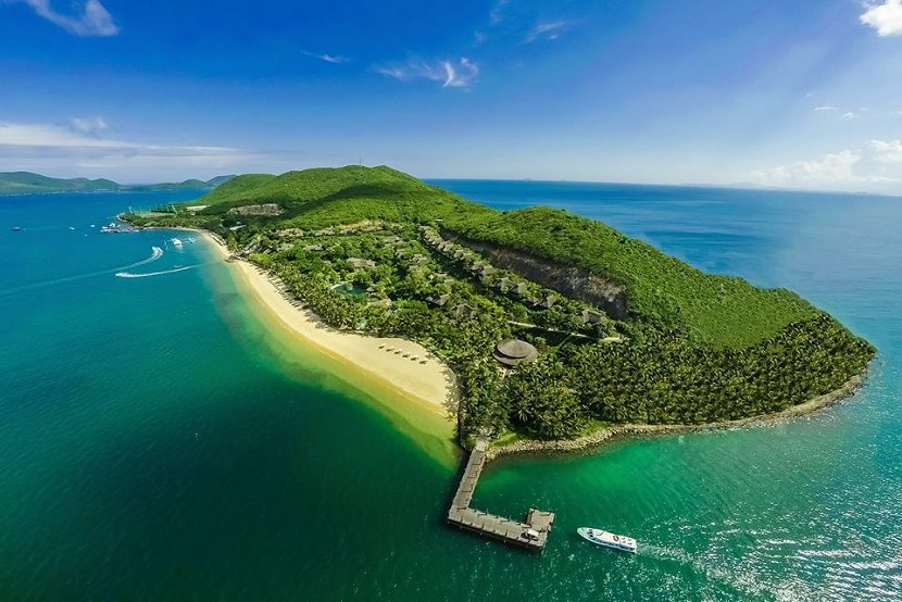 Tam island in Nha Trang