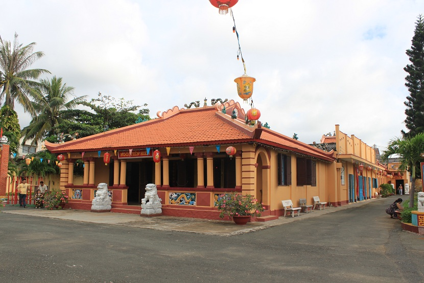 Thang Tam temple in Vung Tau