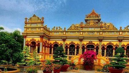 Vinh Trang pagoda 5
