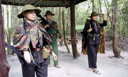 Cu Chi Tunnel Waterway Trip (half day)