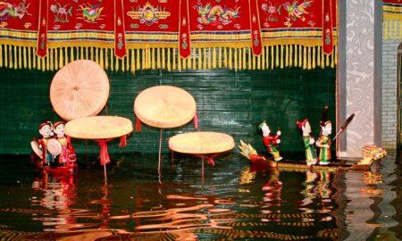 water puppet in saigon