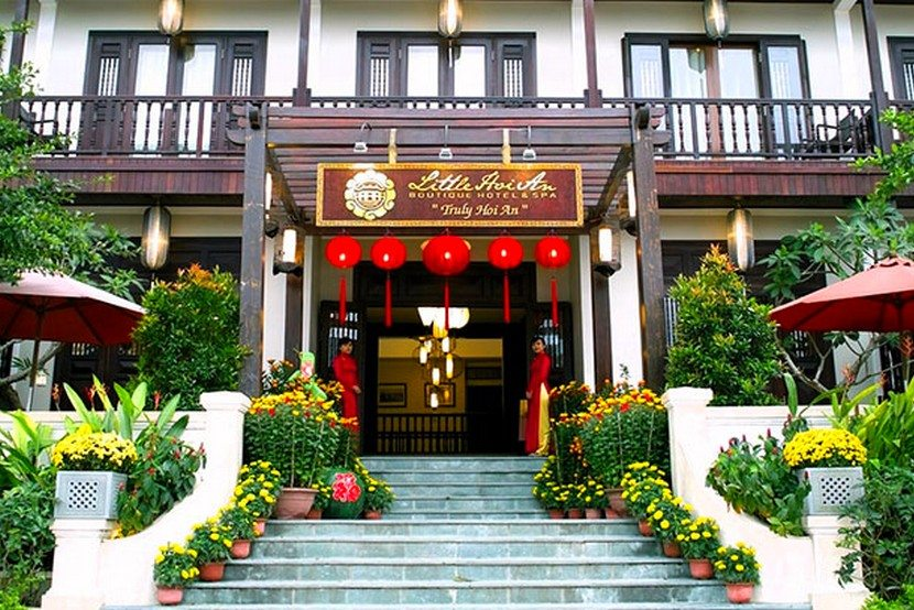 Little hoi an central boutique hotel tnk travel for Hotel central boutique