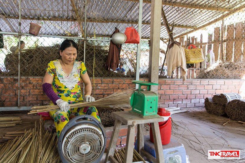 Ham Luong day trip in Ben Tre