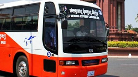 Buses from Ho Chi Minh city to Cambodia