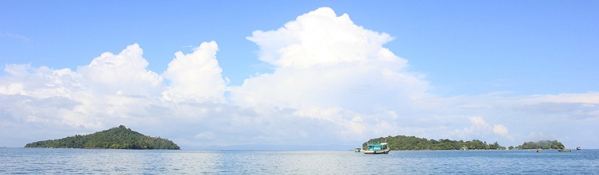 Paradise islands in Kien Giang, Vietnam