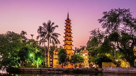 must see pagodas in Hanoi