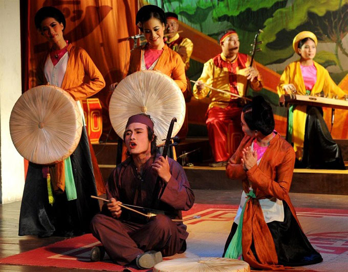 Something you can know about Vietnam folk music: Cheo Opera