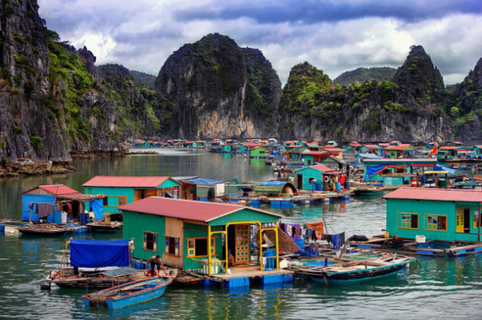 Cai Beo Fishing Village, Hai Phong City