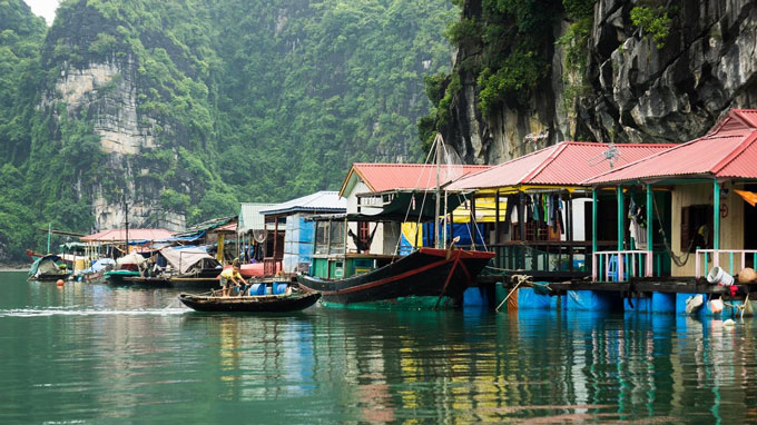 Fishing villages in Vietnam: Cua Van Fishing Village