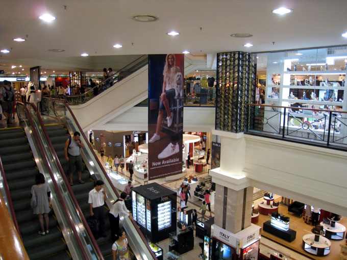 Top Shopping malls shouldn't be missed – Saigon city center: Diamond Department Store