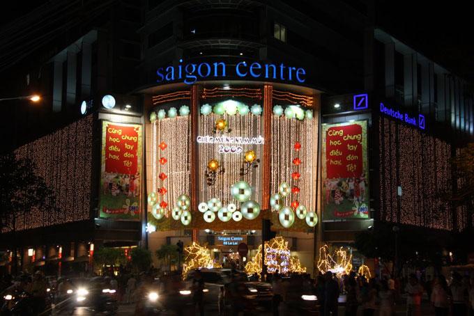 Top Shopping malls shouldn't be missed – Saigon city center: Saigon Center