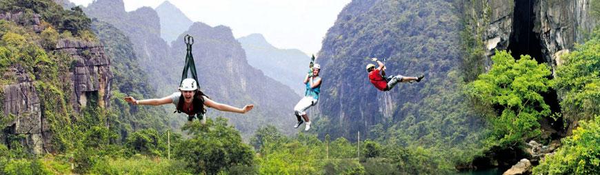 Best Destinations in Vietnam for Zipline-lovers