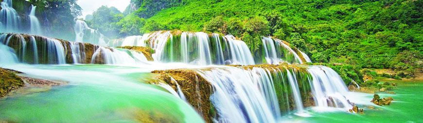 Vietnam-famous-waterfalls
