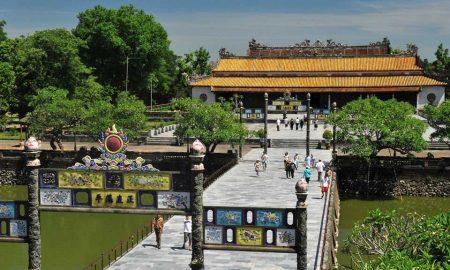 Imperial Citadel is a part of Central Vietnam Package Tour - DA NANG - HUE - BA NA - HOI AN